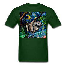 Load image into Gallery viewer, Just Hanging Around Unisex Classic T-Shirt - forest green