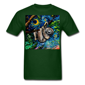 Just Hanging Around Unisex Classic T-Shirt - forest green