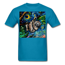 Load image into Gallery viewer, Just Hanging Around Unisex Classic T-Shirt - turquoise