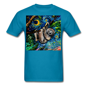 Just Hanging Around Unisex Classic T-Shirt - turquoise