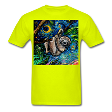 Load image into Gallery viewer, Just Hanging Around Unisex Classic T-Shirt - safety green