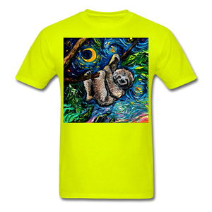 Just Hanging Around Unisex Classic T-Shirt - safety green