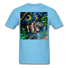 Load image into Gallery viewer, Just Hanging Around Unisex Classic T-Shirt - aquatic blue