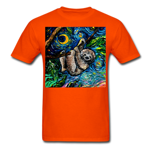 Just Hanging Around Unisex Classic T-Shirt - orange