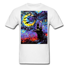 Load image into Gallery viewer, Transylvanian Night Unisex Classic T-Shirt - white