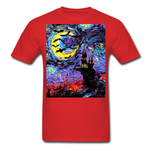Load image into Gallery viewer, Transylvanian Night Unisex Classic T-Shirt - red