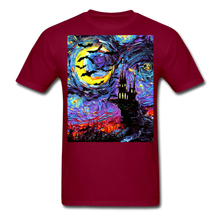 Load image into Gallery viewer, Transylvanian Night Unisex Classic T-Shirt - burgundy