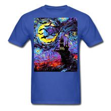 Load image into Gallery viewer, Transylvanian Night Unisex Classic T-Shirt - royal blue