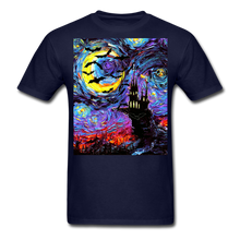 Load image into Gallery viewer, Transylvanian Night Unisex Classic T-Shirt - navy