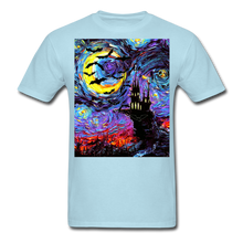 Load image into Gallery viewer, Transylvanian Night Unisex Classic T-Shirt - powder blue