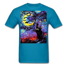 Load image into Gallery viewer, Transylvanian Night Unisex Classic T-Shirt - turquoise