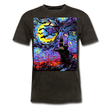 Load image into Gallery viewer, Transylvanian Night Unisex Classic T-Shirt - mineral black