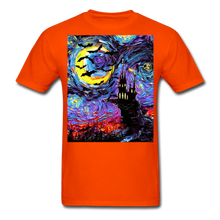 Load image into Gallery viewer, Transylvanian Night Unisex Classic T-Shirt - orange