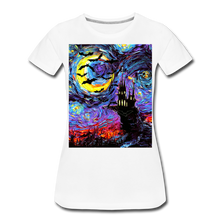 Load image into Gallery viewer, Transylvanian Night Women's Premium T-Shirt - white