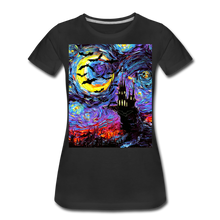 Load image into Gallery viewer, Transylvanian Night Women's Premium T-Shirt - black