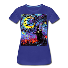 Load image into Gallery viewer, Transylvanian Night Women's Premium T-Shirt - royal blue