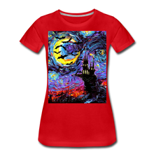 Load image into Gallery viewer, Transylvanian Night Women's Premium T-Shirt - red
