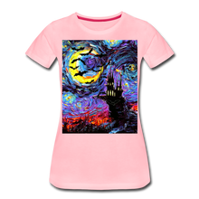 Load image into Gallery viewer, Transylvanian Night Women's Premium T-Shirt - pink