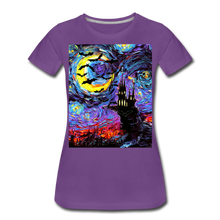 Load image into Gallery viewer, Transylvanian Night Women's Premium T-Shirt - purple