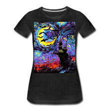 Load image into Gallery viewer, Transylvanian Night Women's Premium T-Shirt - charcoal gray