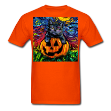 Load image into Gallery viewer, Halloween Kitten Unisex Classic T-Shirt - orange