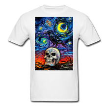 Load image into Gallery viewer, Nevermore Unisex Classic T-Shirt - white