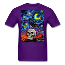 Load image into Gallery viewer, Nevermore Unisex Classic T-Shirt - purple