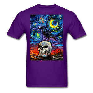 Nevermore Unisex Classic T-Shirt - purple