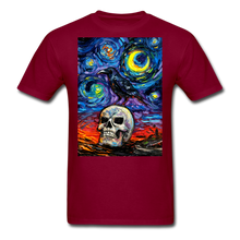 Load image into Gallery viewer, Nevermore Unisex Classic T-Shirt - burgundy