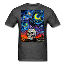 Load image into Gallery viewer, Nevermore Unisex Classic T-Shirt - heather black