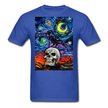 Load image into Gallery viewer, Nevermore Unisex Classic T-Shirt - royal blue