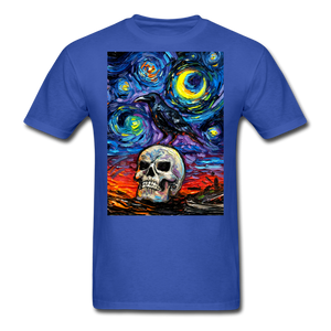 Nevermore Unisex Classic T-Shirt - royal blue