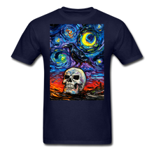 Load image into Gallery viewer, Nevermore Unisex Classic T-Shirt - navy