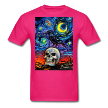 Load image into Gallery viewer, Nevermore Unisex Classic T-Shirt - fuchsia