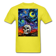 Load image into Gallery viewer, Nevermore Unisex Classic T-Shirt - yellow