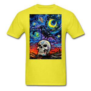 Nevermore Unisex Classic T-Shirt - yellow