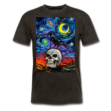 Load image into Gallery viewer, Nevermore Unisex Classic T-Shirt - mineral black
