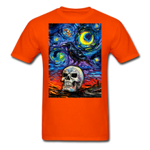 Load image into Gallery viewer, Nevermore Unisex Classic T-Shirt - orange