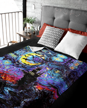 Load image into Gallery viewer, Transylvanian Night Throw Blanket