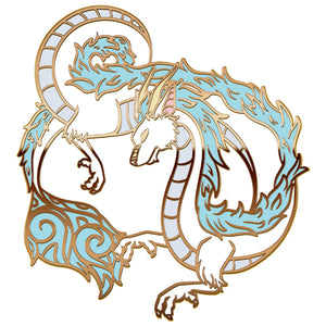 PRESALE: River Dragon Hard Enamel Pin