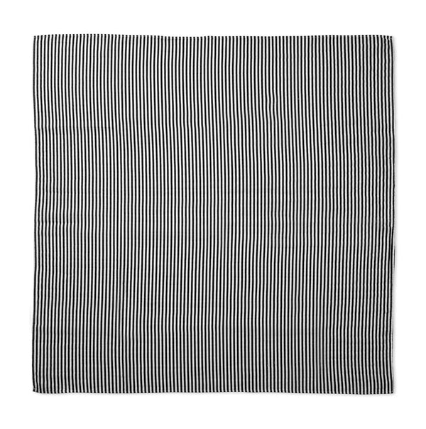 STRIPES Organic Cotton Muslin Swaddle Blanket - Modern Burlap
