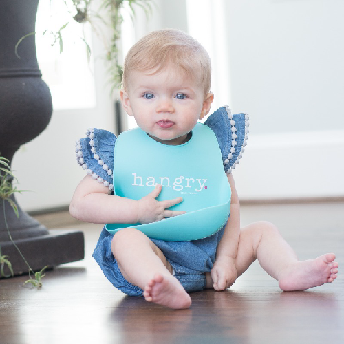 Hangry Girl Wonder Bib - Bella Tunno