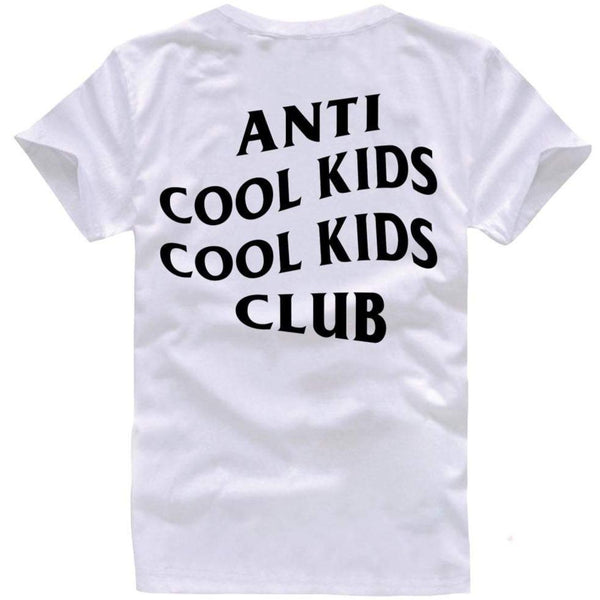 Anti Cool Kids Tee Black/White - Paper Plain