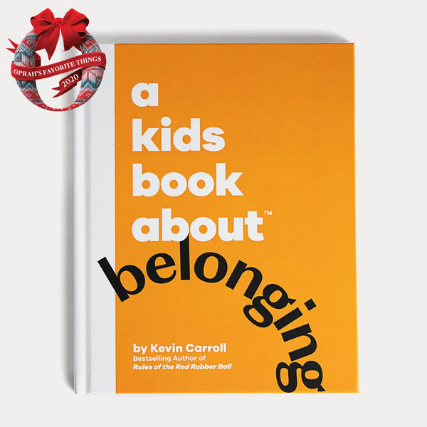 Front Cover of A Kids Book About Belonging