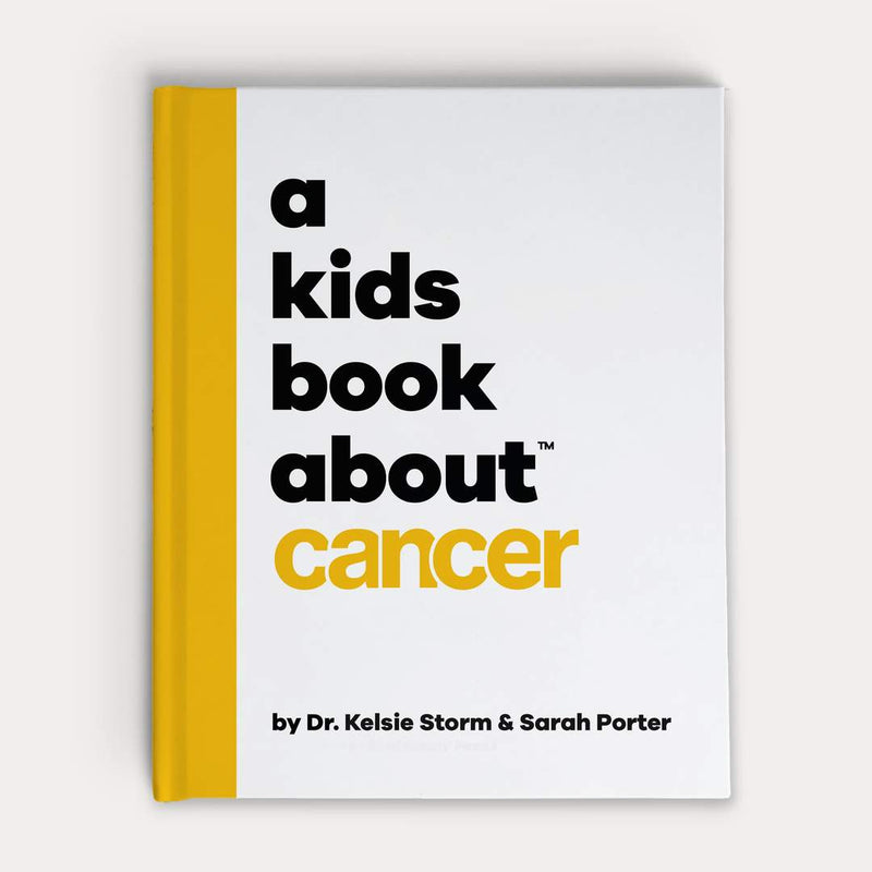 Front Cover of A Kids Book About Cancer