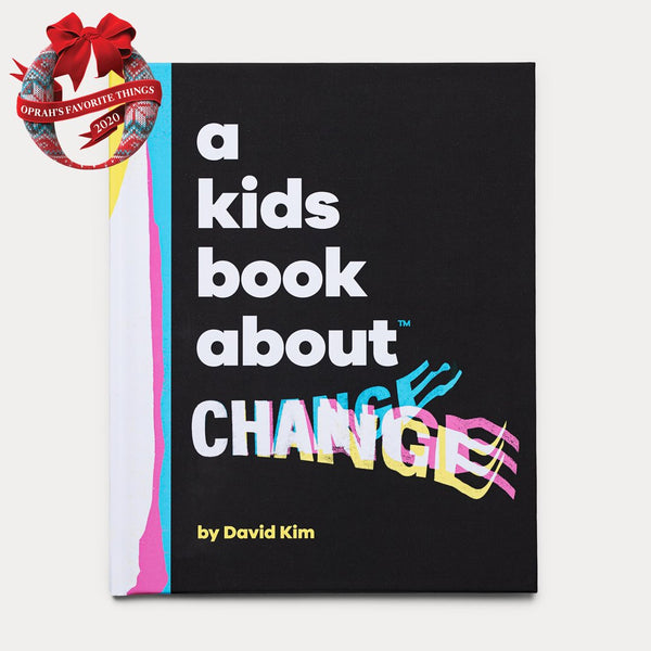 Front Cover of A Kids Book About Change