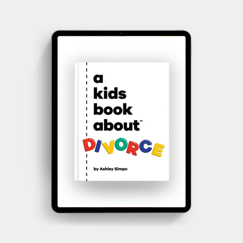 Online Copy (Ebook) of A Kids About Divorce