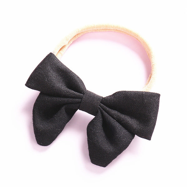 Black Bow Baby Headband; Girl Hair Accessories Canada