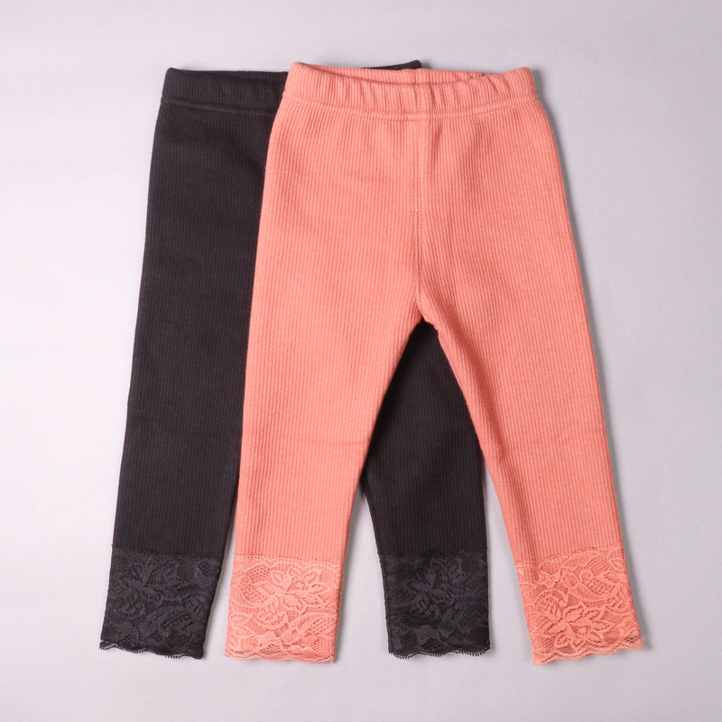 Elena Leggings - Salmon