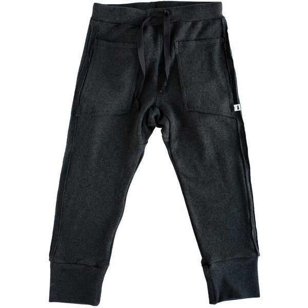 Knit Joggers (Marled Black) - North Kinder